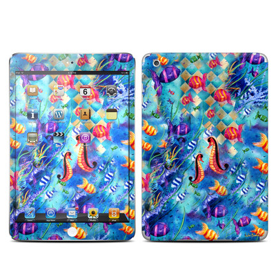 Apple iPad Mini Skin - Harlequin Seascape