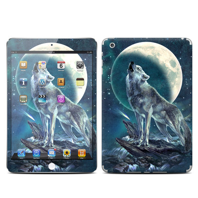 Apple iPad Mini Skin - Howling Moon Soloist