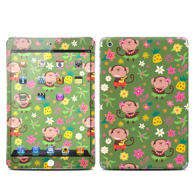 Apple iPad Mini Skin - Hula Monkeys