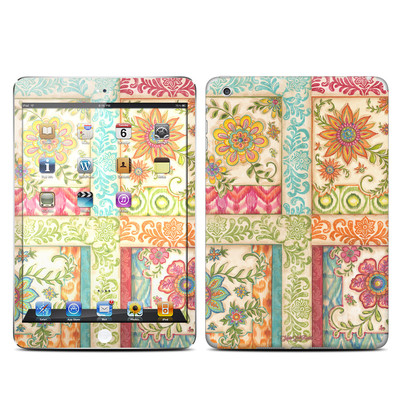 Apple iPad Mini Skin - Ikat Floral