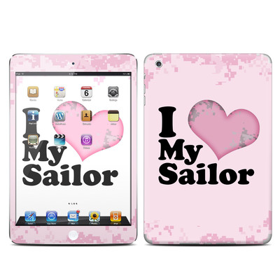 Apple iPad Mini Skin - I Love My Sailor
