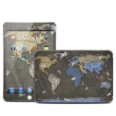 Apple iPad Mini Skin - Jean Map
