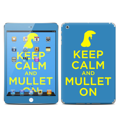 Apple iPad Mini Skin - Keep Calm - Mullet