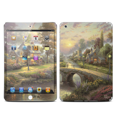 Apple iPad Mini Skin - Sunset On Lamplight Lane