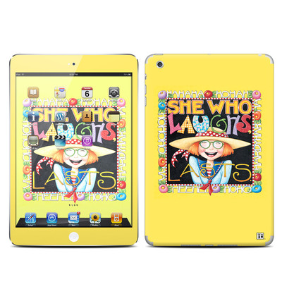 Apple iPad Mini Skin - She Who Laughs