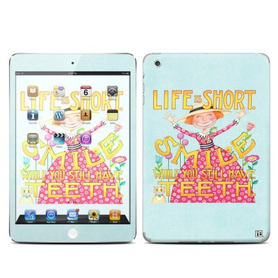 Apple iPad Mini Skin - Life is Short