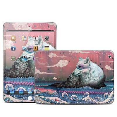 Apple iPad Mini Skin - Lone Wolf