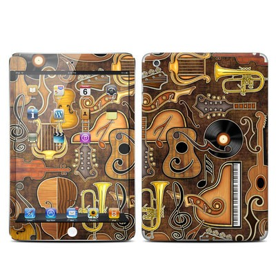 Apple iPad Mini Skin - Music Elements