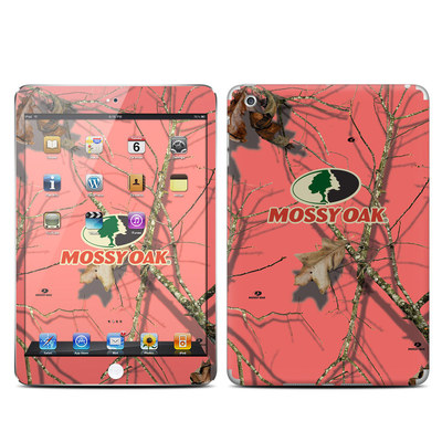 Apple iPad Mini Skin - Break-Up Lifestyles Salmon