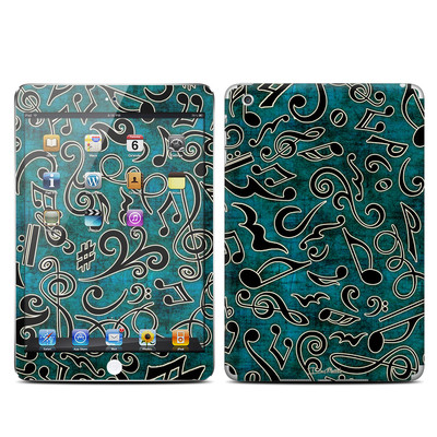Apple iPad Mini Skin - Music Notes