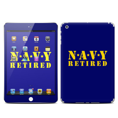 Apple iPad Mini Skin - Navy Retired