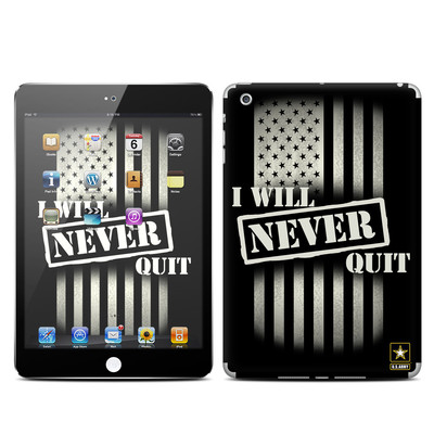 Apple iPad Mini Skin - Never Quit