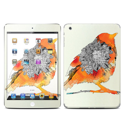 Apple iPad Mini Skin - Orange Bird