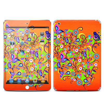 Apple iPad Mini Skin - Orange Squirt