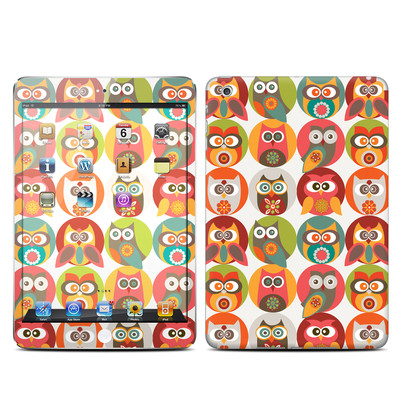 Apple iPad Mini Skin - Owls Family