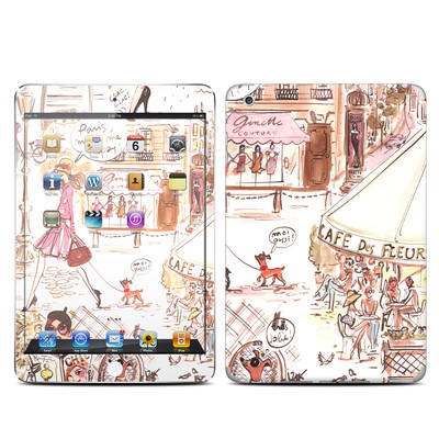 Apple iPad Mini Skin - Paris Makes Me Happy