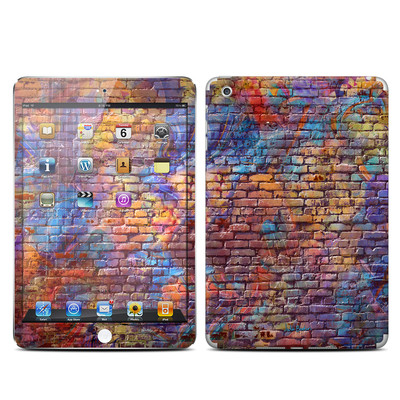 Apple iPad Mini Skin - Painted Brick