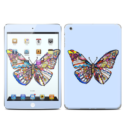 Apple iPad Mini Skin - Pieced Butterfly
