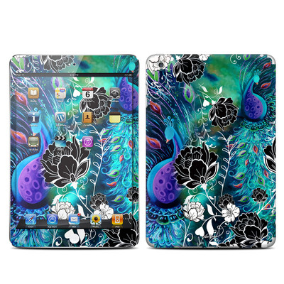 Apple iPad Mini Skin - Peacock Garden