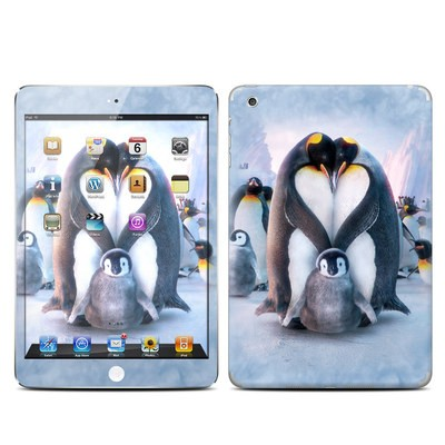 Apple iPad Mini Skin - Penguin Heart