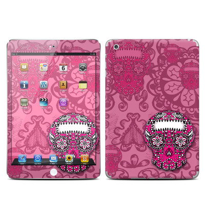 Apple iPad Mini Skin - Pink Lace