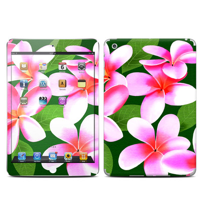 Apple iPad Mini Skin - Pink Plumerias