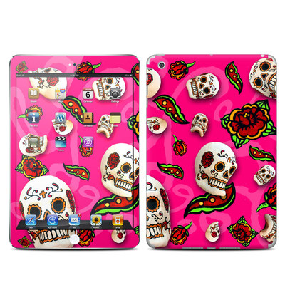 Apple iPad Mini Skin - Pink Scatter