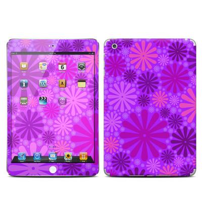 apple ipad mini skin   big dots purple by pixel decor