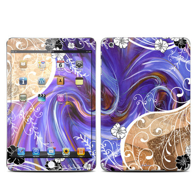 Apple iPad Mini Skin - Purple Waves