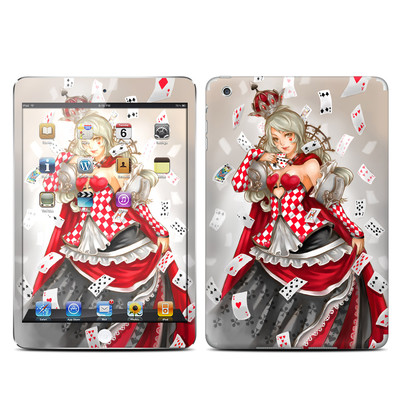 Apple iPad Mini Skin - Queen Of Cards