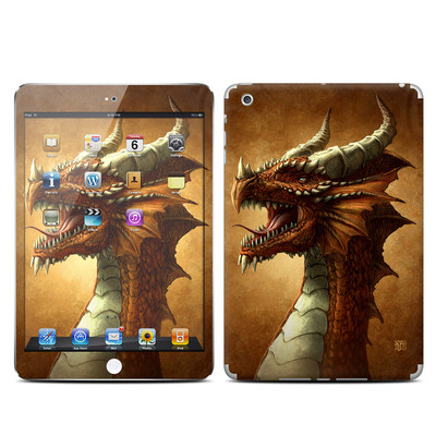 Apple iPad Mini Skin - Red Dragon