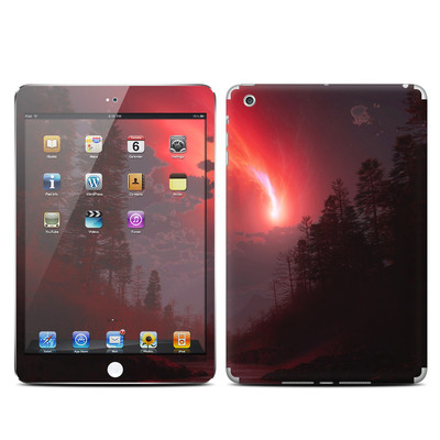 Apple iPad Mini Skin - Red Harbinger