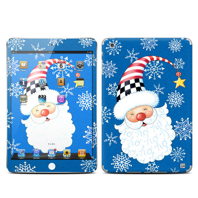 Apple iPad Mini Skin - Santa Snowflake