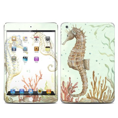 Apple iPad Mini Skin - Seahorse Trio