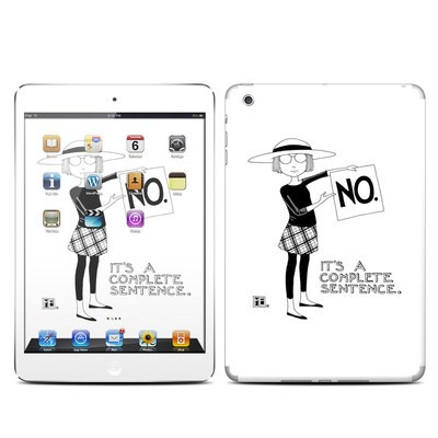 Apple iPad Mini Skin - Sentence