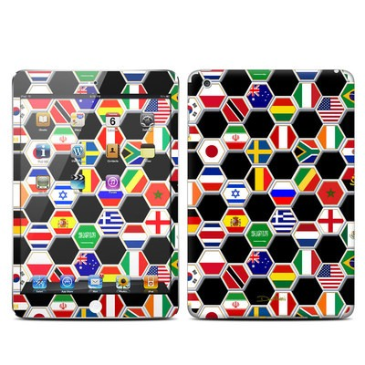 Apple iPad Mini Skin - Soccer Flags