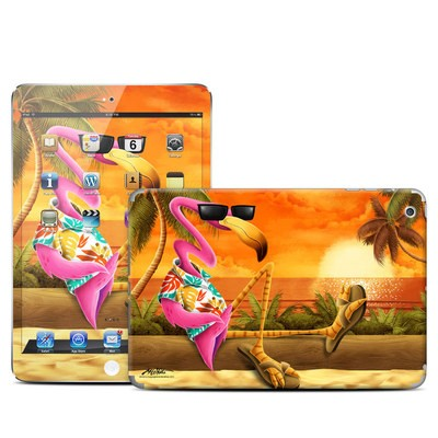 Apple iPad Mini Skin - Sunset Flamingo