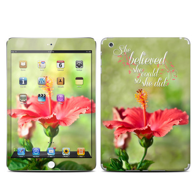 Apple iPad Mini Skin - She Believed