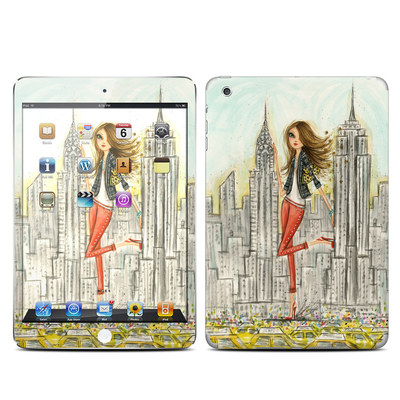 Apple iPad Mini Skin - The Sights New York