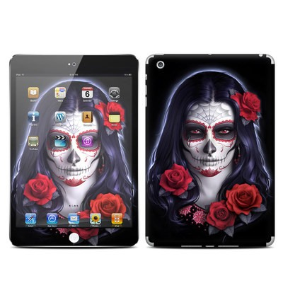 Apple iPad Mini Skin - Sugar Skull Rose