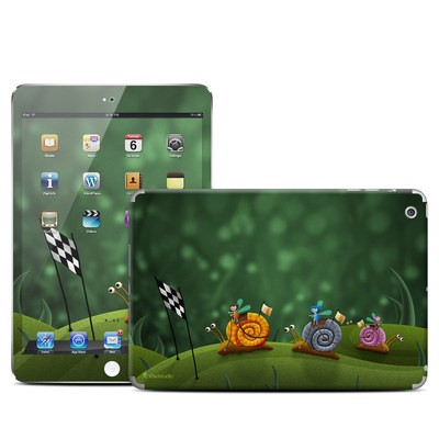 Apple iPad Mini Skin - Snail Race