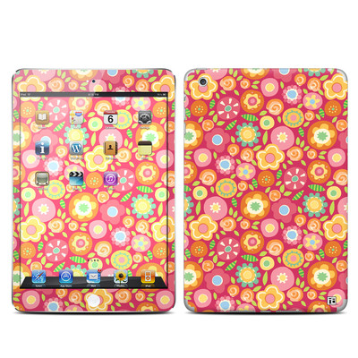 Apple iPad Mini Skin - Flowers Squished