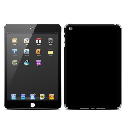 Apple iPad Mini Skin - Solid State Black