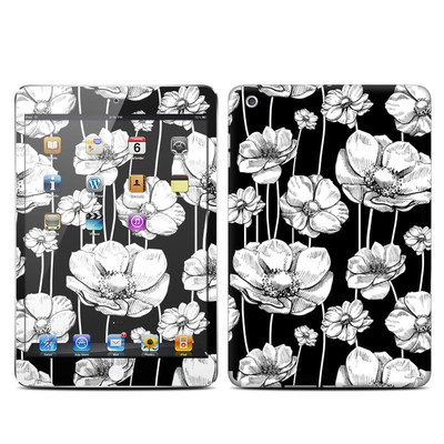 Apple iPad Mini Skin - Striped Blooms