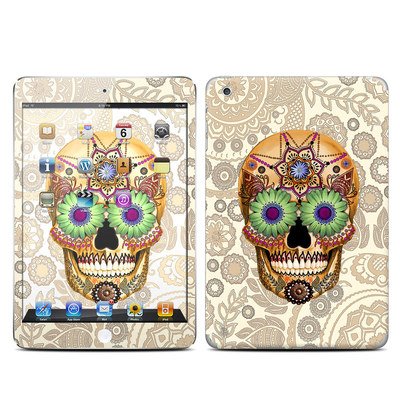 Apple iPad Mini Skin - Sugar Skull Bone