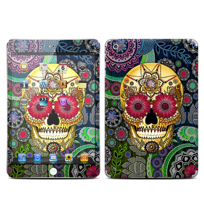 Apple iPad Mini Skin - Sugar Skull Paisley