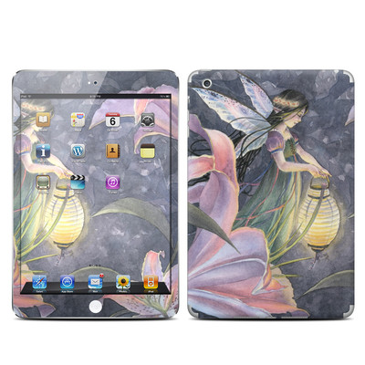 Apple iPad Mini Skin - Twilight Lilies