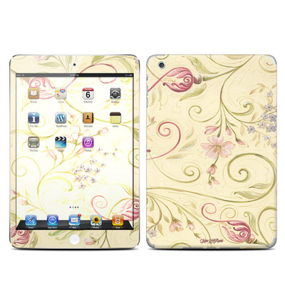 Apple iPad Mini Skin - Tulip Scroll