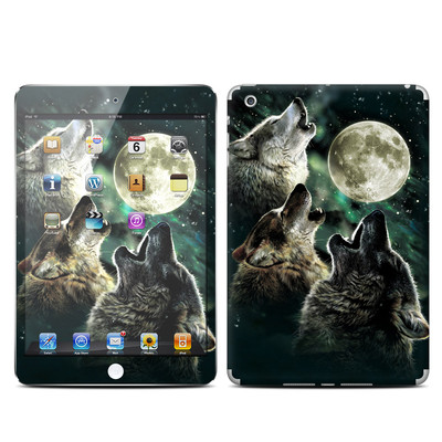 Apple iPad Mini Skin - Three Wolf Moon