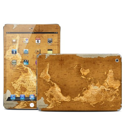 Apple iPad Mini Skin - Upside Down Map
